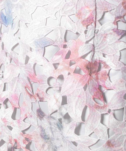 JUSGLITTY(ジャスグリッティー)/【andGIRL 9月/STORY 10月号掲載】Newレースプリントタイトスカート/48338330_img09