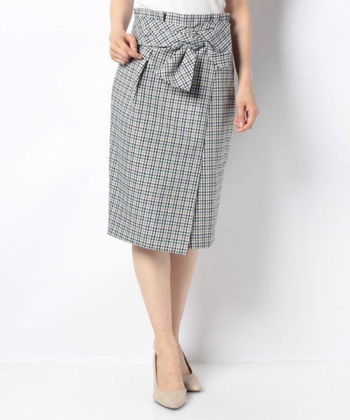 JUSGLITTY(ジャスグリッティー)/リボン付チェックタイトスカート/48338240_img11