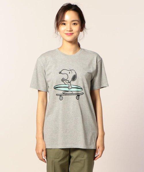 FREDYMAC(フレディマック)/SURF&SKATEスヌーピーTシャツ/8-0393-2-50-026_img01