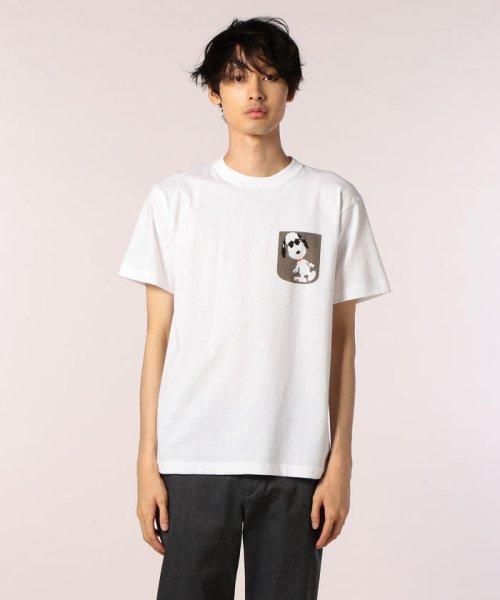 FREDYMAC(フレディマック)/フェイクポケットSNOOPY Tシャツ/8-0690-2-50-062_img01