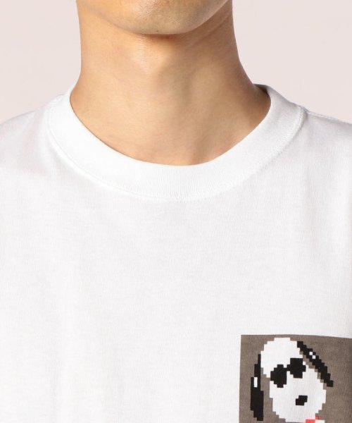 FREDYMAC(フレディマック)/フェイクポケットSNOOPY Tシャツ/8-0690-2-50-062_img04