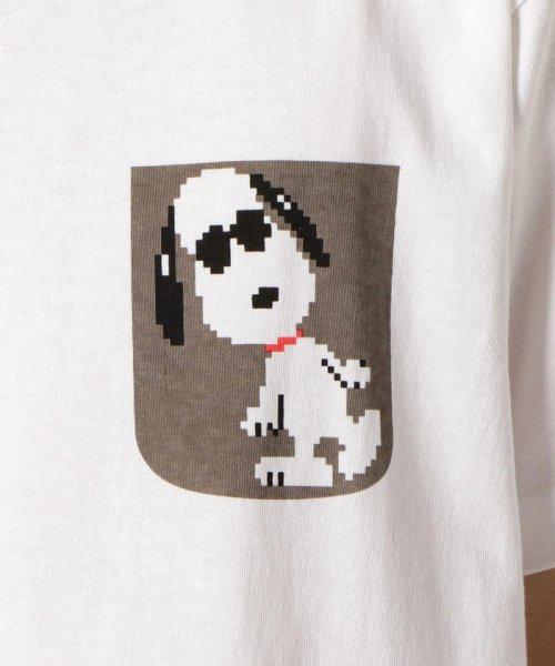 FREDYMAC(フレディマック)/フェイクポケットSNOOPY Tシャツ/8-0690-2-50-062_img07