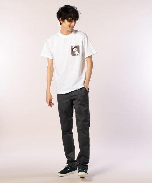 FREDYMAC(フレディマック)/フェイクポケットSNOOPY Tシャツ/8-0690-2-50-062_img09
