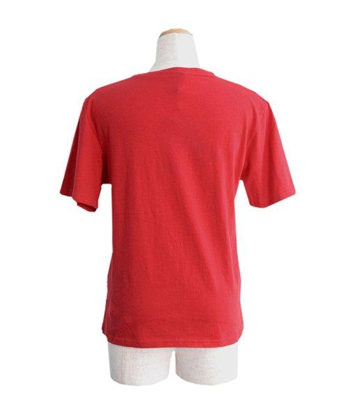 ANDJ(ANDJ(アンドジェイ))/UVカット加工VネックポケットコットンTシャツ/ts75x03923_img11