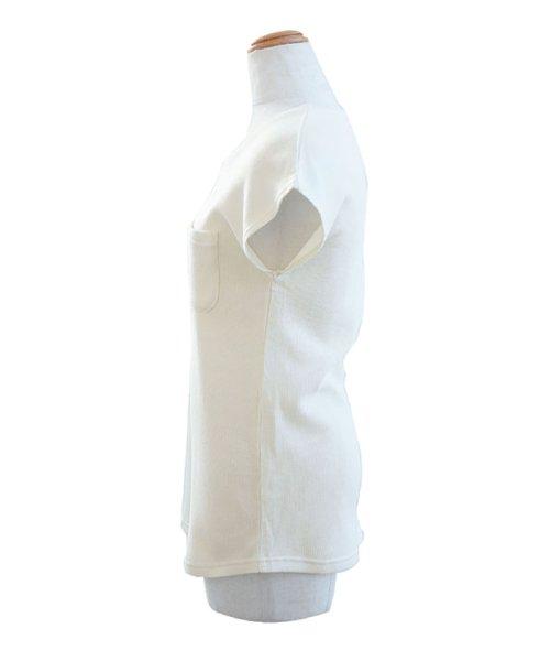 ANDJ(ANDJ(アンドジェイ))/フレンチスリーブサーマルポケットTシャツ/ts75x03971_img16