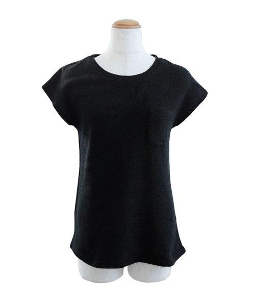 ANDJ(ANDJ(アンドジェイ))/フレンチスリーブサーマルポケットTシャツ/ts75x03971_img19