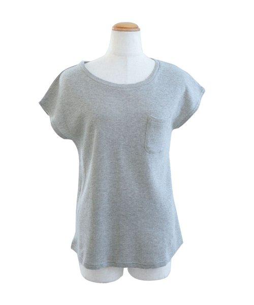 ANDJ(ANDJ(アンドジェイ))/フレンチスリーブサーマルポケットTシャツ/ts75x03971_img20
