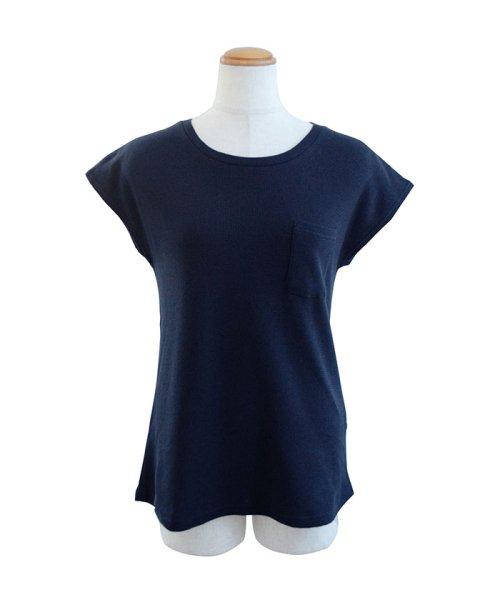 ANDJ(ANDJ(アンドジェイ))/フレンチスリーブサーマルポケットTシャツ/ts75x03971_img21