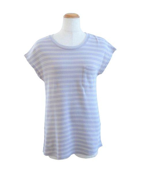 ANDJ(ANDJ(アンドジェイ))/フレンチスリーブサーマルポケットTシャツ/ts75x03971_img24
