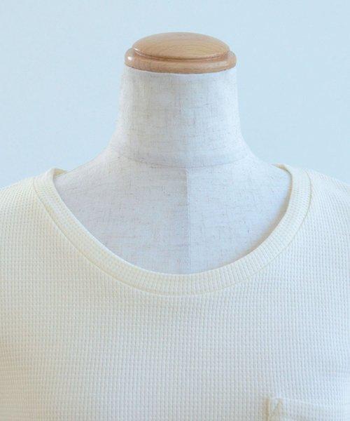ANDJ(ANDJ(アンドジェイ))/フレンチスリーブサーマルポケットTシャツ/ts75x03971_img25