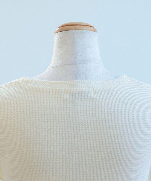 ANDJ(ANDJ(アンドジェイ))/フレンチスリーブサーマルポケットTシャツ/ts75x03971_img26