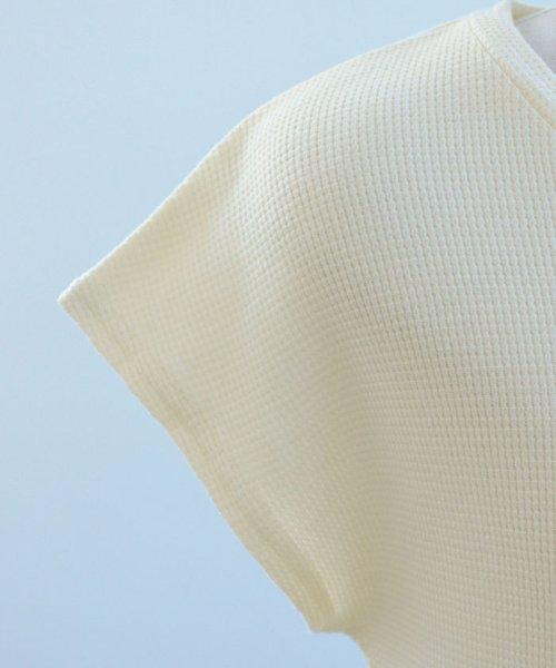 ANDJ(ANDJ(アンドジェイ))/フレンチスリーブサーマルポケットTシャツ/ts75x03971_img27