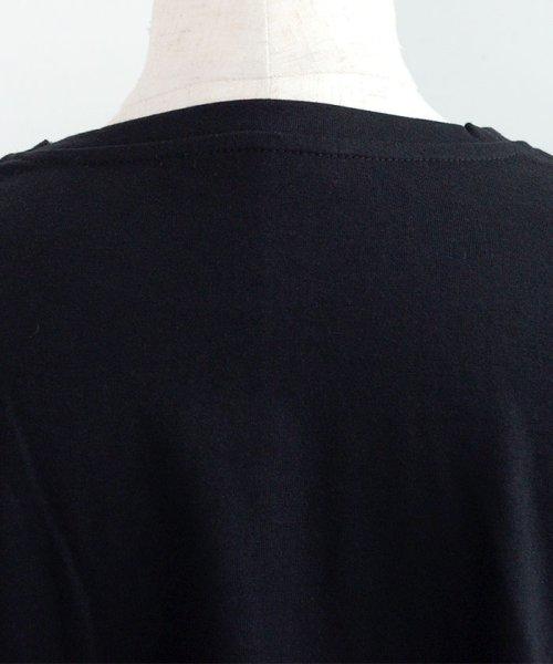 ANDJ(ANDJ(アンドジェイ))/ロゴプリントサイドスリット半袖Tシャツ/ts76x03917_img25