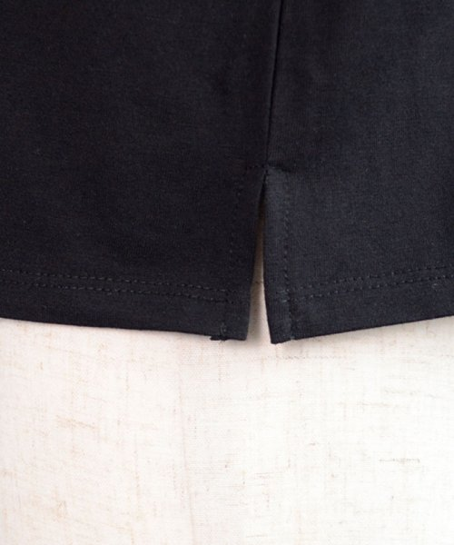 ANDJ(ANDJ(アンドジェイ))/ロゴプリントサイドスリット半袖Tシャツ/ts76x03917_img29