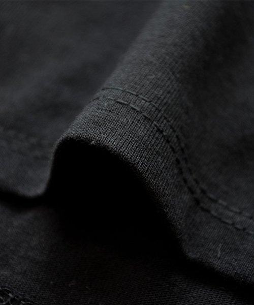 ANDJ(ANDJ(アンドジェイ))/ロゴプリントサイドスリット半袖Tシャツ/ts76x03917_img30