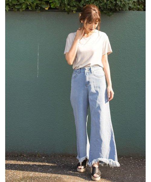 Re:EDIT(リエディ)/選べるVネックTシャツ/119491_img03