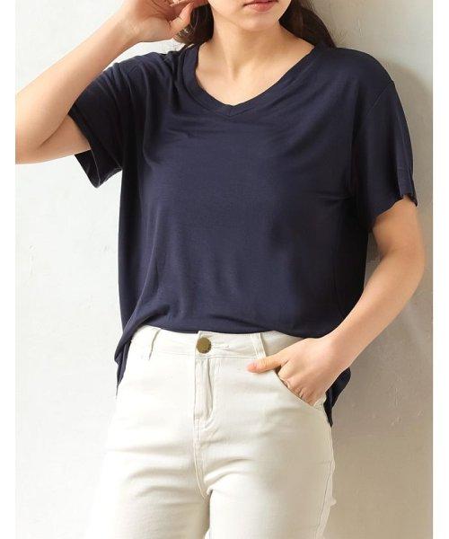 Re:EDIT(リエディ)/選べるVネックTシャツ/119491_img08