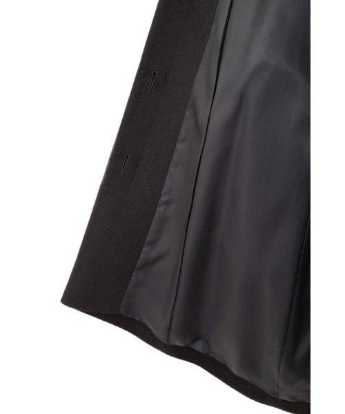 NATURAL BEAUTY(ナチュラル ビューティー)/カシミヤ混フォックスファー襟ロングウールコート/0188251102_img01