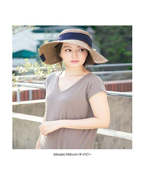 KOBE LETTUCE(神戸レタス)/UVカットワイドリボンコンパクトハット/J575_img11