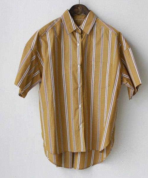 REAL CUBE(リアルキューブ)/Seadrake マルチストライプコットンシャツ/89-81303_img03