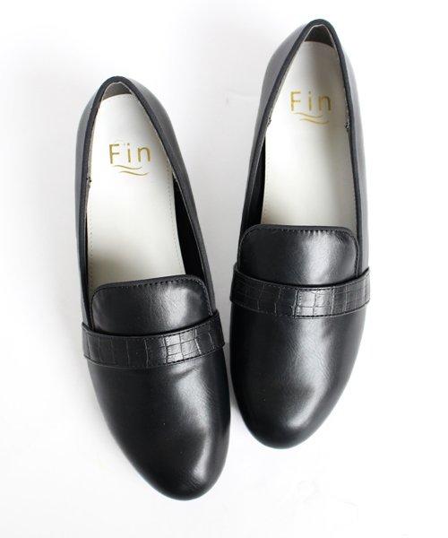 Fin(フィン)/ラウンドベルトローファー【低反発スポンジ入り】/183059222_img02