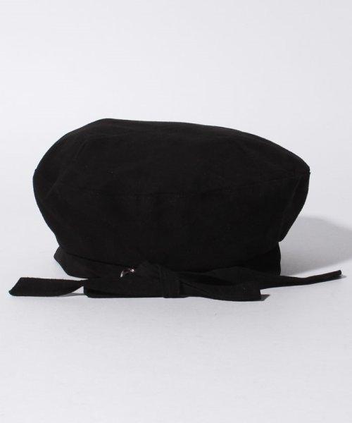 en recre(アン レクレ)/【CASSELINI】リアルレザースエードベレー帽/6802364_img02