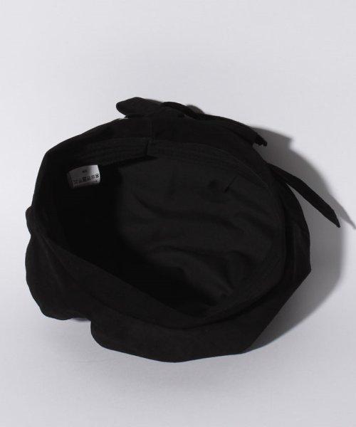 en recre(アン レクレ)/【CASSELINI】リアルレザースエードベレー帽/6802364_img03