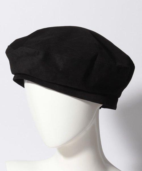 en recre(アン レクレ)/【CASSELINI】リアルレザースエードベレー帽/6802364_img05