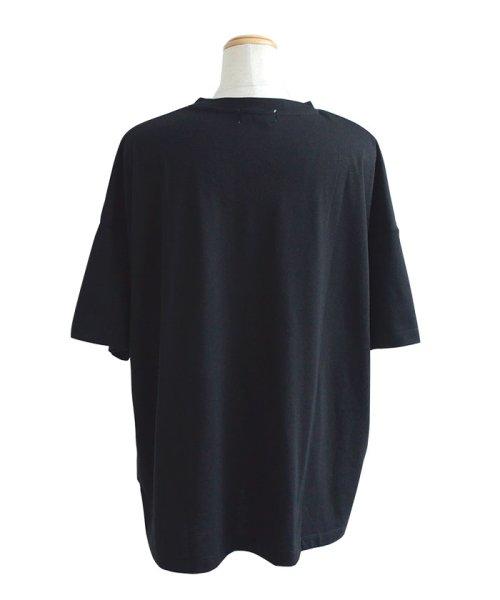 ANDJ(ANDJ(アンドジェイ))/カレッジプリントクルーネックBIGTシャツチュニック/ts76x03945_img26
