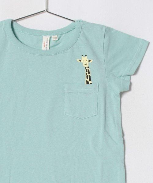 LAGOM(ラーゴム)/アニマルポケットTシャツ/1206830241411_img02