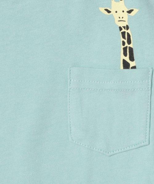 LAGOM(ラーゴム)/アニマルポケットTシャツ/1206830241411_img03