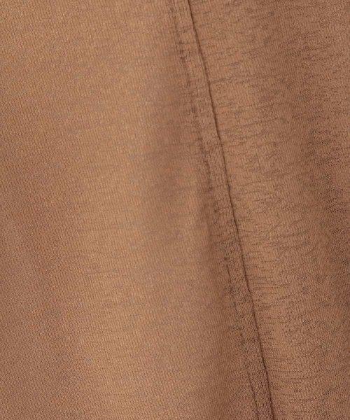 OFUON(オフオン)/【洗濯機で洗える】強撚フライスロールアップカーディガン/EUCID01059_img06
