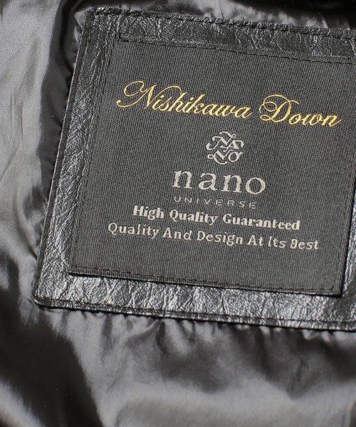 nano・universe(ナノ・ユニバース)/【至極の逸品】西川ダウン ウールシングルコート/6688214010_img20