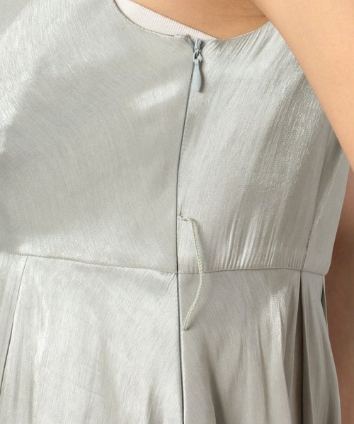Eimy Peral(エイミーパール(ドレス))/ネックレス付光沢ウエストリボンドレス/4990_img05