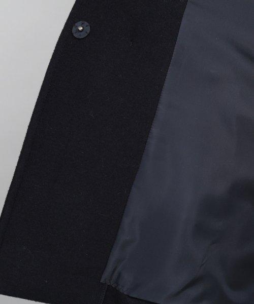 ViS(ビス)/★【WEB限定】二重織メルトンショートフードコート/BVO58510_img08