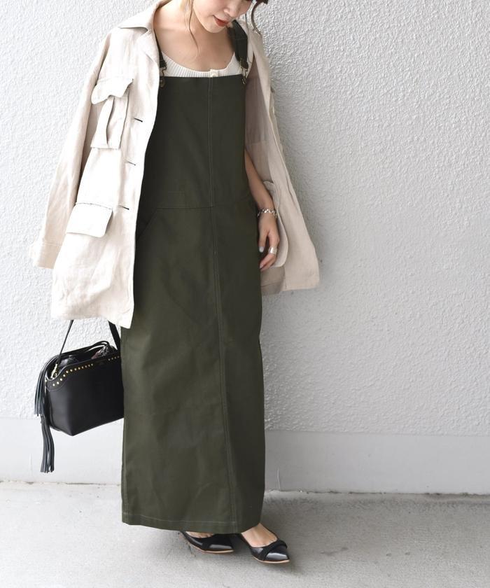 UNIVERSAL OVERALL:【SHIPS別注】ジャンパースカート
