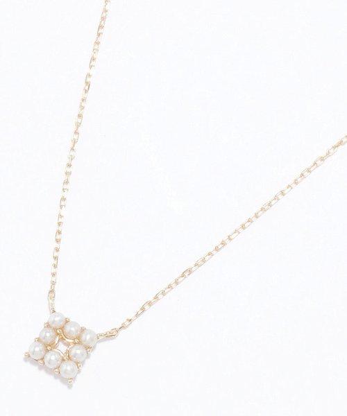 jupiter(ジュピター)/【WEB限定】pearl squareネックレス/191825034_img04