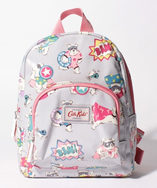 Cath Kidston(Kids)(キャスキッドソン(キッズ))/キッズ ミニリュックサック ウィズ チェストストラップ スーパードッグ/796910_img01