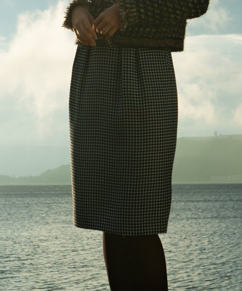 OLD ENGLAND(オールド イングランド)/BINDAドットプリントスカート/58510461_img01