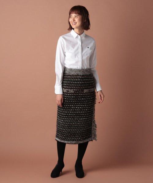 OLD ENGLAND(オールド イングランド)/ツィードニットスカート/58520091_img01