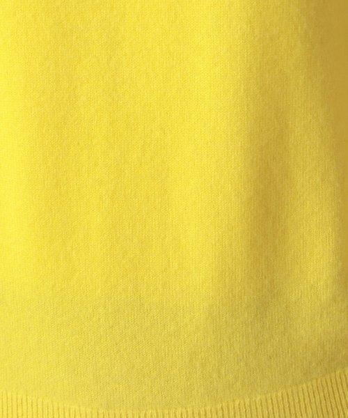 OLD ENGLAND(オールド イングランド)/カシミヤクルーネックプルオーバー/58720041_img06