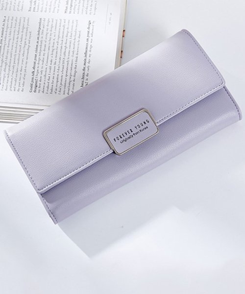 Amulet(アミュレット)/6色シンプル長財布 レディース カラー6色 シンプル 使いやすい 長財布 三つ折り 【vl-5143】/vl-5143_img04