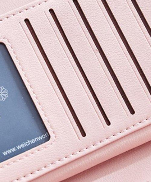 Amulet(アミュレット)/6色シンプル長財布 レディース カラー6色 シンプル 使いやすい 長財布 三つ折り 【vl-5143】/vl-5143_img07