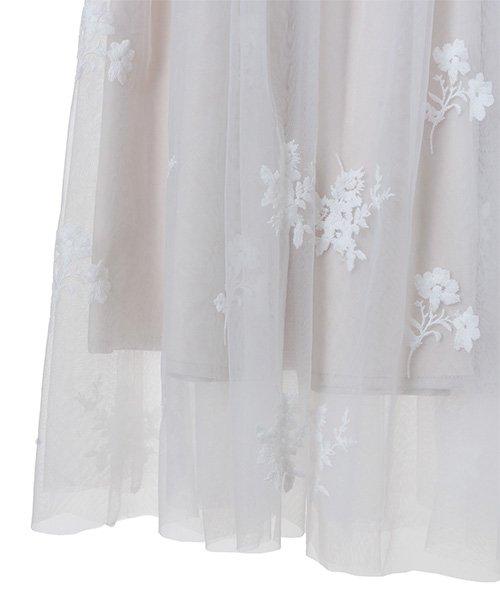 31 Sons de mode(トランテアン ソン ドゥ モード)/チュール刺繍スカート/0038305_img15