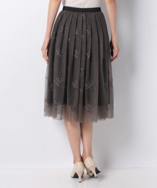 31 Sons de mode(トランテアン ソン ドゥ モード)/チュール刺繍スカート/0038305_img17