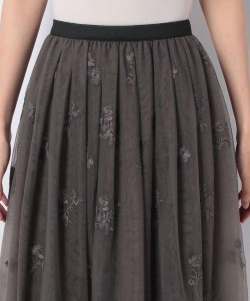 31 Sons de mode(トランテアン ソン ドゥ モード)/チュール刺繍スカート/0038305_img18
