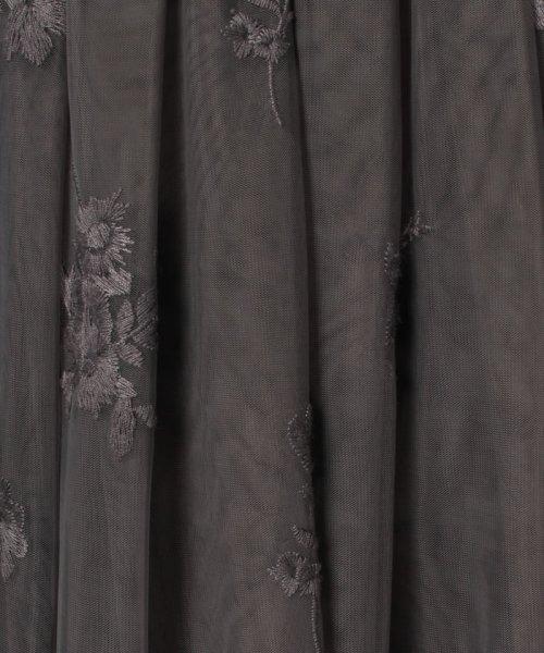 31 Sons de mode(トランテアン ソン ドゥ モード)/チュール刺繍スカート/0038305_img19