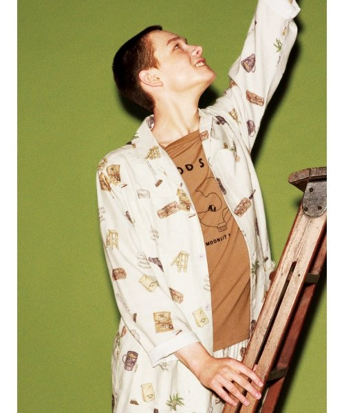 GELATO PIQUE HOMME(GELATO PIQUE HOMME)/【GELATO PIQUE HOMME】GOOD SLEEPワンポイントTシャツ/PMCT184960_img01