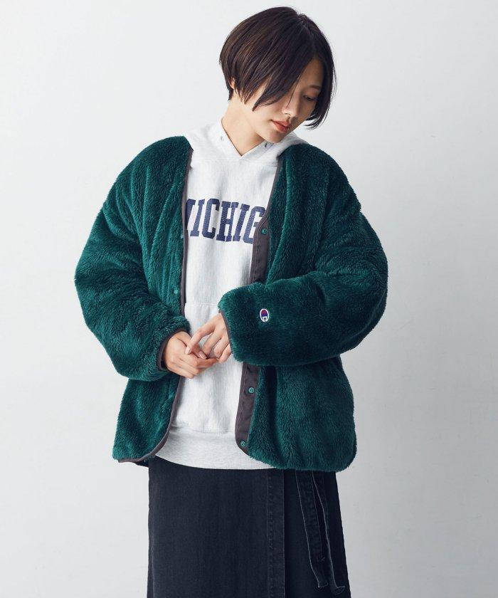 【MIHO NOJIRI × nano・universe】Champion別注シェルパフリースジャケット