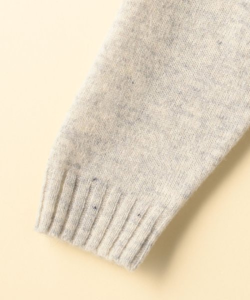coen(コーエン)/【『MORE』2月号掲載・手洗いできる】ラムウールオフタートルニット/76306068055_img04